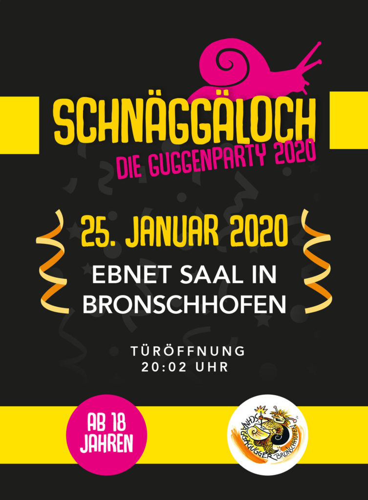 Flyer Schnäggäloch 2020